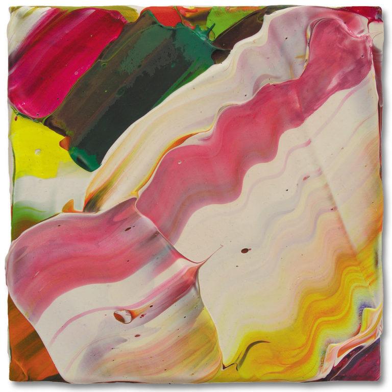 Petra Amerell Ohne Titel (07-30) Pigmente und Binder/Leinwand