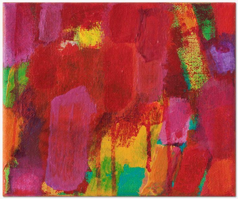 Petra Amerell Ohne Titel (11-47) Pigmente und Binder/Leinwand
