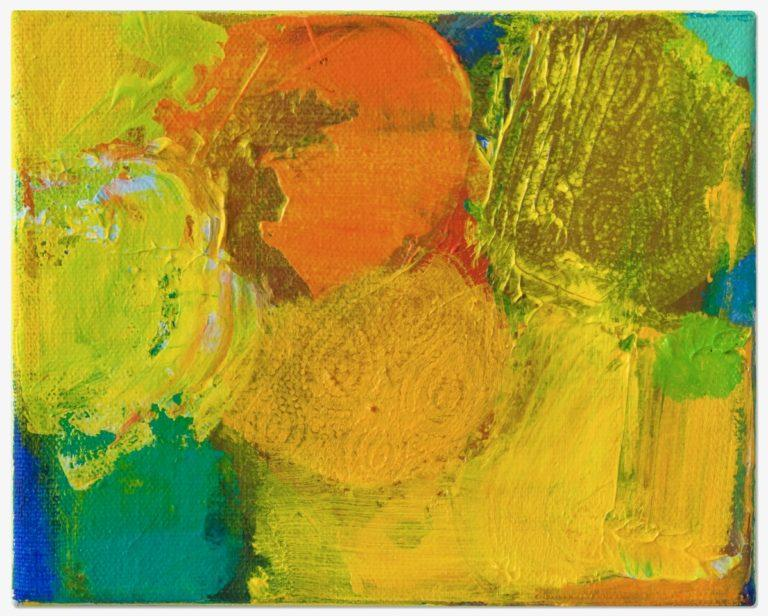 Petra Amerell Ohne Titel (11-49) Pigmente und Binder/Leinwand