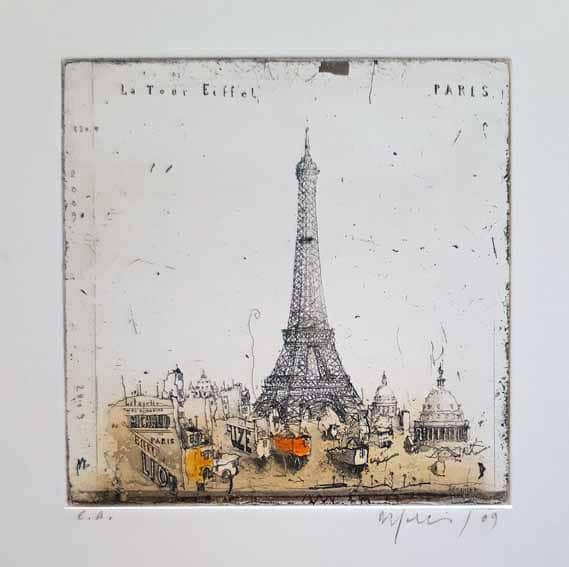 Alexander Befelein Paris Eiffelturm