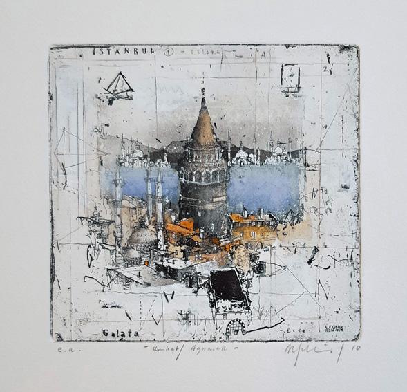 Alexander Befelein Istanbul I - Galata