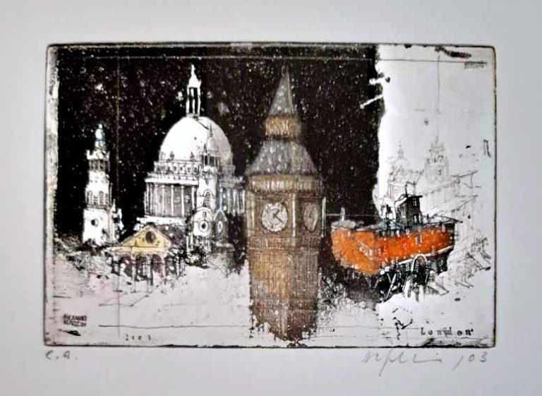 Alexander Befelein London bei Nacht