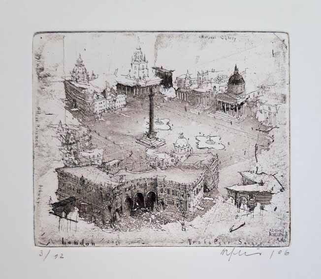 Alexander Befelein London Trafalgar Square