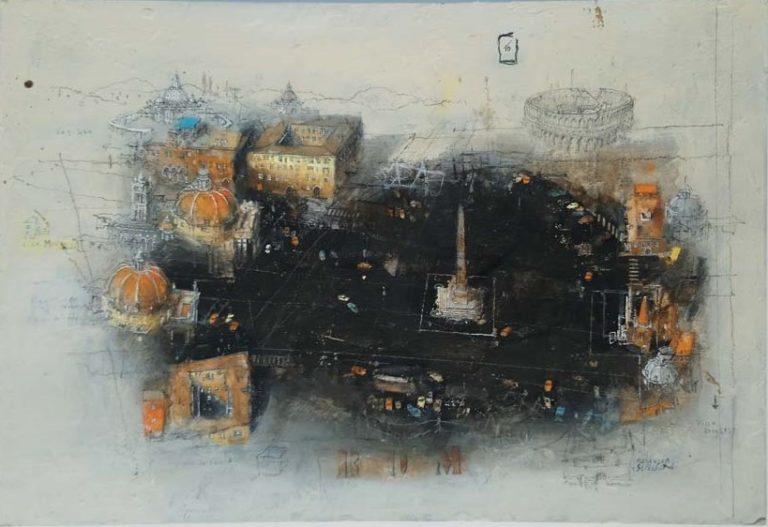Alexander Befelein Rom - Piazza del Popolo