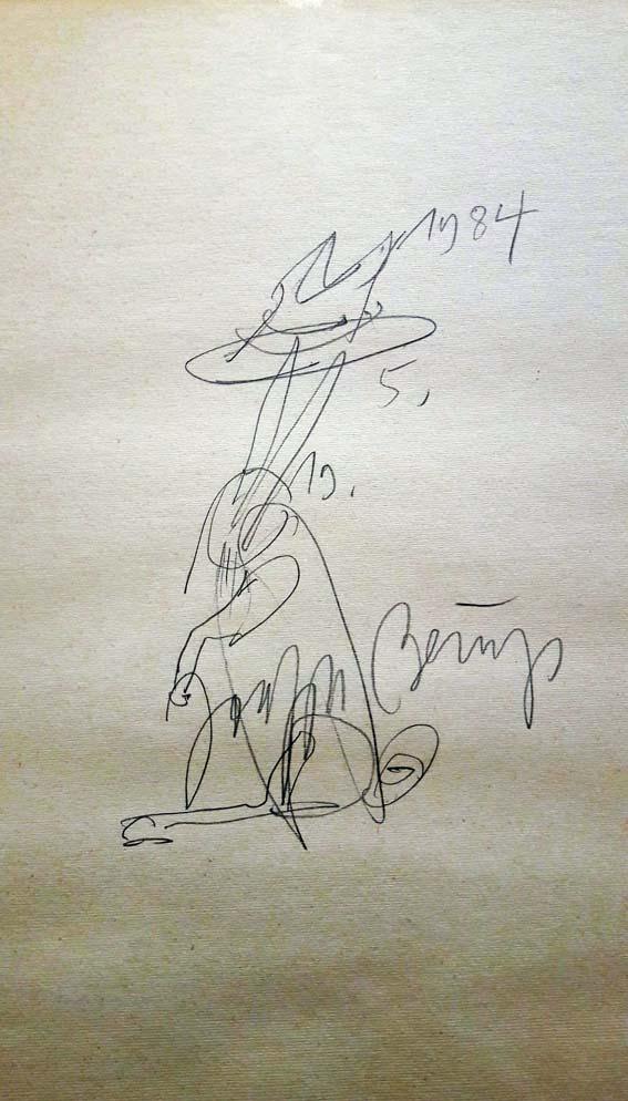 Josef Beuys Hase mit Hut