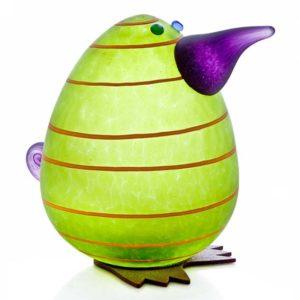 Glasstudio Borowski Kiwi Egg Briefbeschwerer