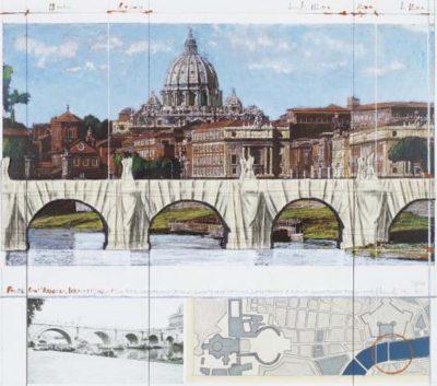 Christo Ponte Sant' Angelo