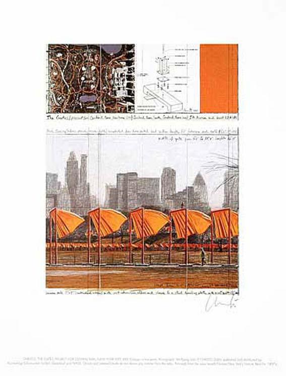 Christo & Jeanne-Claude The Gates XXV