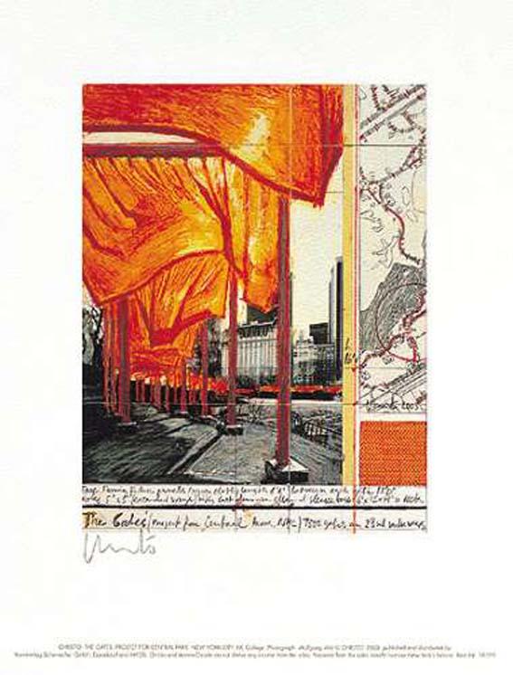 Christo & Jeanne-Claude The Gates XX