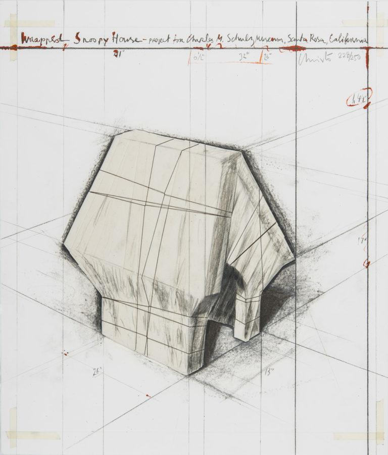 Christo Wrapped Snoopy House, 2004