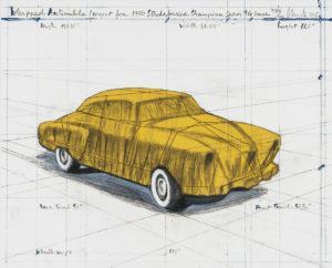 Christo Wrapped Automobile Studebaker, 2015
