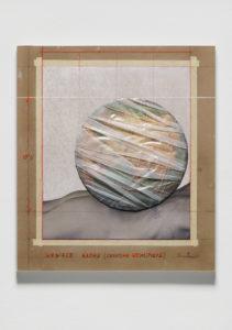Christo Wrapped Globe Eurasian Hemisphere, 2019