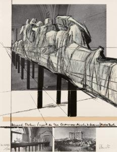 Christo Wrapped Statues Project Glyptothek
