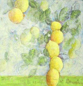 Ulrich Hartig Il tempo dei limoni Mischtechnik/Leinwand