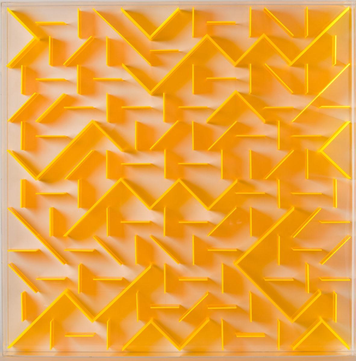 Joas Winkellabyrinth Orange 101x101x11 L21155