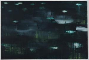 Katja Then Neo, 2021 Acryl und Epoxidharz auf Leinwand 80 x 120 cm Unikat
