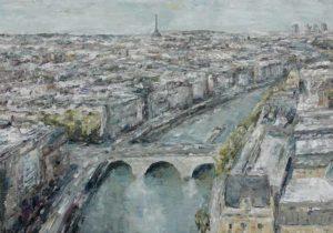 Rudi Weiss Paris, 4-2021 Öl auf Leinwand