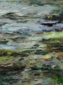Rudi Weiss Landschaft, 20-2021 Öl auf Leinwand