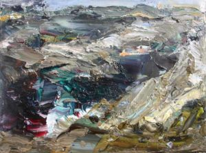 Rudi Weiss Landschaft, 36-2014 Öl auf Leinwand