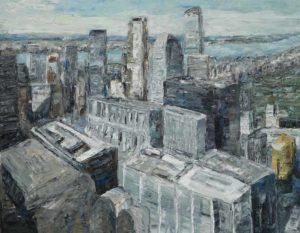 Rudi Weiss New York, 9-2017 Öl auf Leinwand