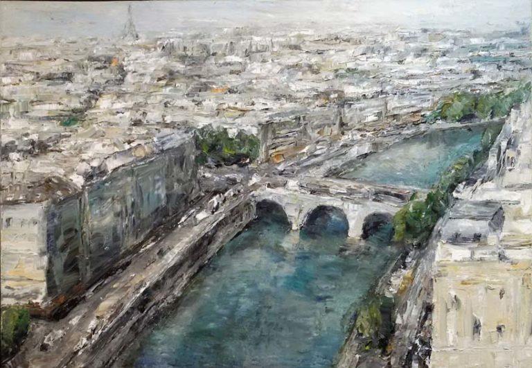 Rudi Weiss Paris, 12-2013 Öl auf Leinwand