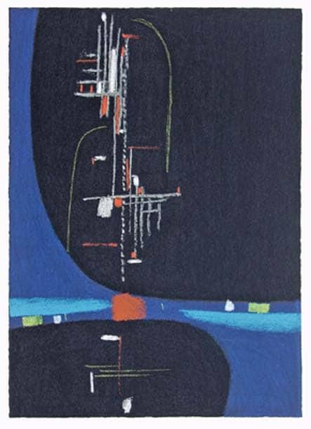 Max Ackermann An die Freude , 1956
