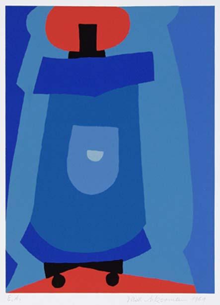 Max Ackermann Ohne Titel, 1969