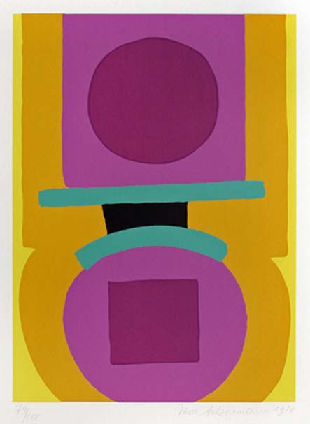 Max Ackermann Ohne Titel, 1970