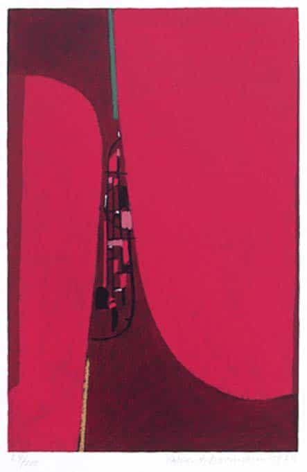 Max Ackermann Ohne Titel, 1973
