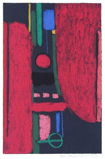 Max Ackermann Der Drache Ladon, 1973