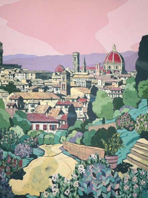 Firenze Giardino Delle Rose
