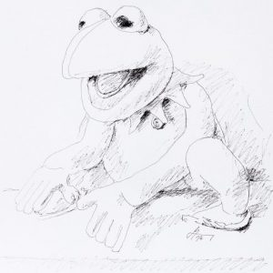 WKDA Muppets Kermit